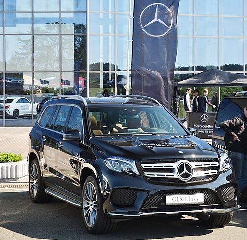 Ваша большая мечта. Mercedes-Benz GLS доступны с выгодой до 229 тыс. грн.