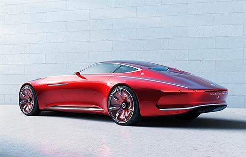 Mercedes-Benz создал новый роскошный концепт Maybach - Mercedes-Benz