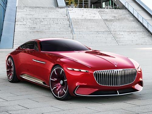Mercedes-Benz представит новый роскошный концепт Maybach