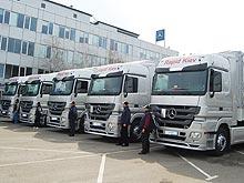 Украинские перевозчики в 2017 году начали активно обновлять автопарк. Кто купил 100-й Mercedes-Benz?
