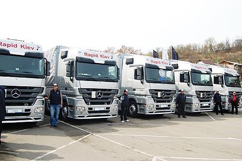 Mercedes-Benz Actros стал самым продаваемым грузовиком Украины в 2017 году - Mercedes-Benz