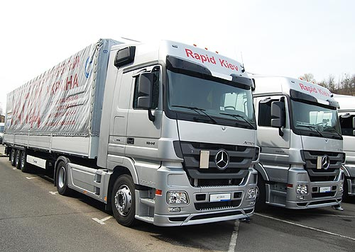 Украинские перевозчики в 2017 году начали активно обновлять автопарк - Mercedes-Benz
