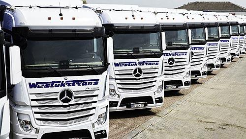 В Украину поставлена крупная партия из 60 новых Mercedes-Benz Actros - Mercedes-Benz