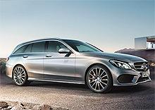 В Украине стартовали продажи универсала Mercedes-Benz C-Класс Estate. Подробности о модели