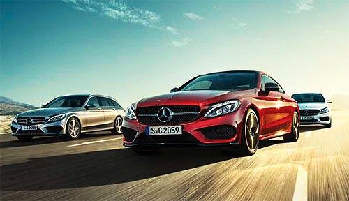На автомобили Mercedes-Benz действует специальный сниженный курс