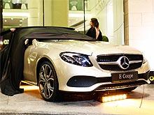 В Украине в ритме блюза презентовали Mercedes-Benz E-Class Coupe