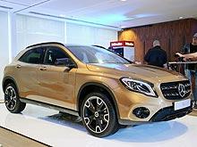 Обновленный кроссовер Mercedes-Benz GLA обещают по «народной» цене