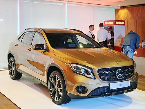Обновленный Mercedes-Benz GLA доступен с выгодой до 10% - Mercedes-Benz