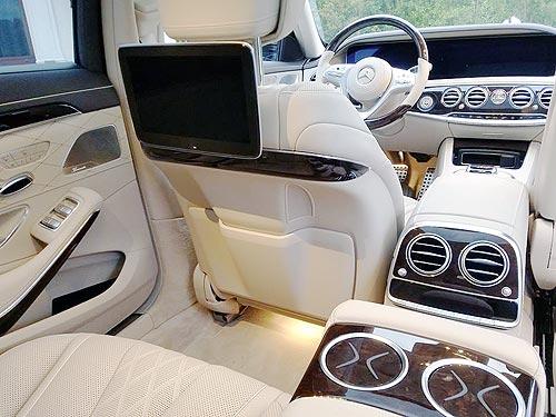 В Украине стартовали продажи обновленного Mercedes-Benz S-класса