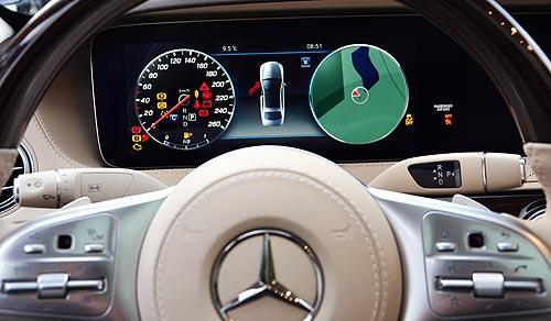 Чем может удивить обновленный Mercedes-Benz S-Класса - Mercedes-Benz