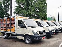 Киевский хлеб и торт будут ассоциироваться с Mercedes-Benz
