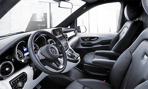 Mercedes-Benz представили роскошный тюнингованный V-Class BRABUS - Mercedes-Benz