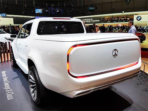Новый пикап Mercedes-Benz X-Klasse стартует в Украине в декабре 2017 года - Mercedes-Benz