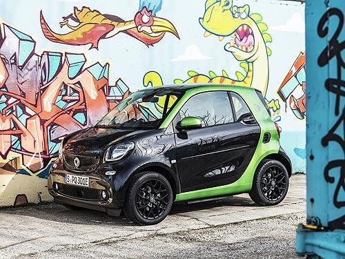 Чем будет удивлять smart electric drive? - smart