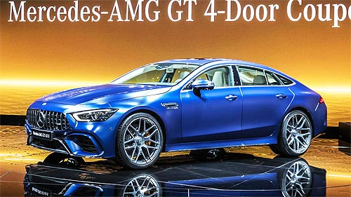 Четырехдверный Mercedes-AMG GT 4-Door Coupé появится в Украине к концу года - Mercedes