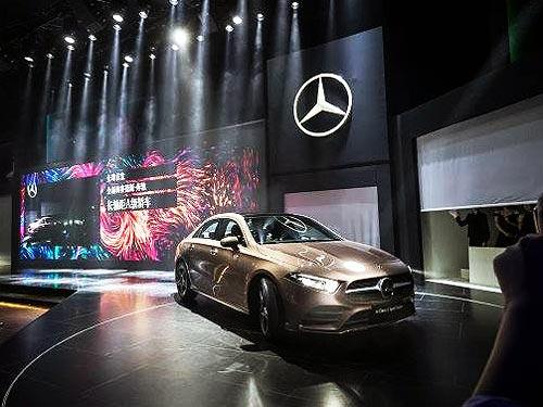 Седан Mercedes-Benz A-Class появится в Украине уже осенью