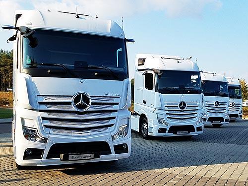 Почему новый Mercedes-Benz Actros стал самым «продвинутым» грузовиком в мире