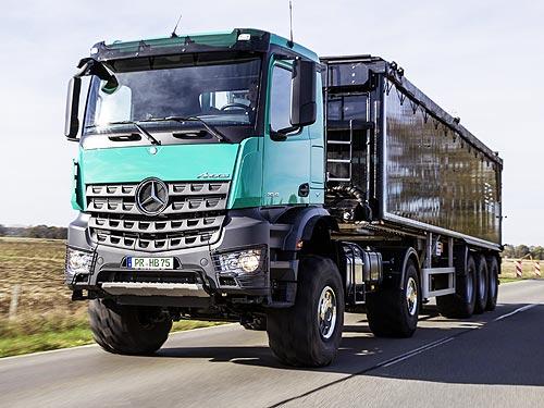 В Украине представят аграрную версию Mercedes-Benz Arocs - Mercedes-Benz
