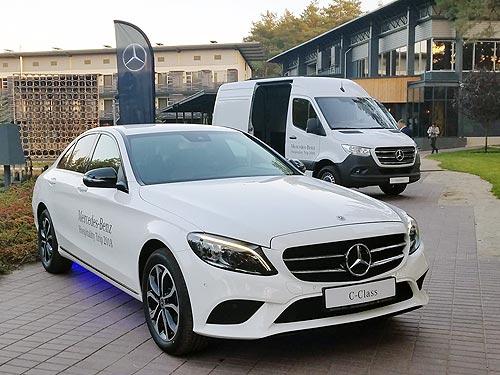 В Украине представили 4 новые модели Mercedes-Benz