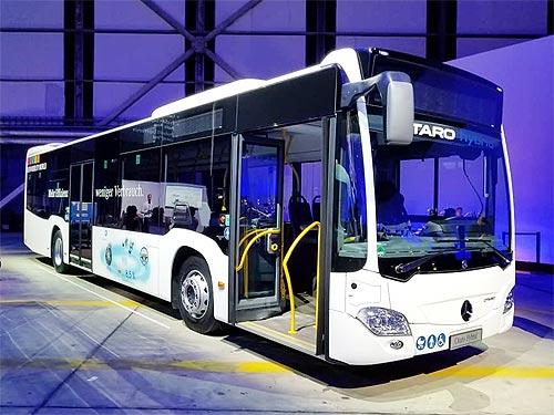 Автобусом 2019 года стал Mercedes-Benz Citaro Hybrid