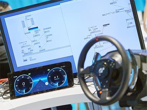 Беспилотные автомобили Mercedes-Benz научат общаться с людьми