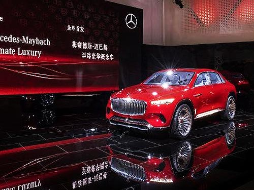 Mercedes-Maybach представил концепт первого кроссовера