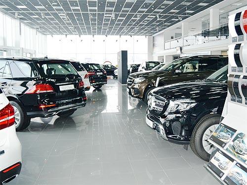 На модельный ряд Mercedes-Benz действует зимнее предложение с выгодой до 18%