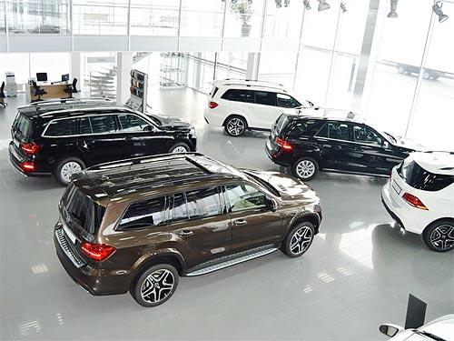 На внедорожники Mercedes-Benz действует специальное предложение - Mercedes-Benz