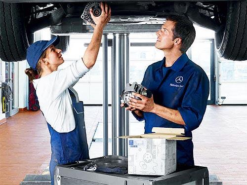 Для Mercedes-Benz старше 5 лет действуют выгодные условия обслуживания - Mercedes-Benz