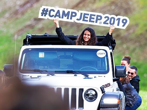 На Camp Jeep 2019 приняли участие 750 автомобилей Jeep и более 1500 человек - Jeep