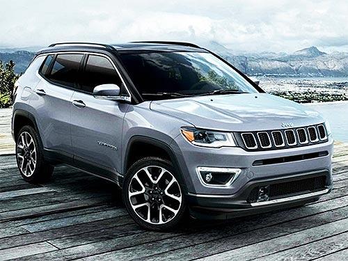 В Украине стартовали продажи обновленного Jeep Compass