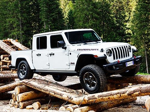 Jeep вернулся в сегмент пикапов и представил Gladiator. Наш репортаж
