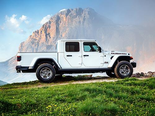 Jeep вернулся в сегмент пикапов и представил Gladiator. Наш репортаж - Jeep