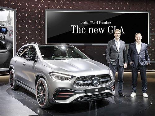 Новый Mercedes-Benz GLA появится в Украине весной 2020 года