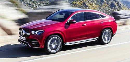 В Украине стартовали продажи нового поколения Mercedes-Benz GLE Coupé - Mercedes-Benz