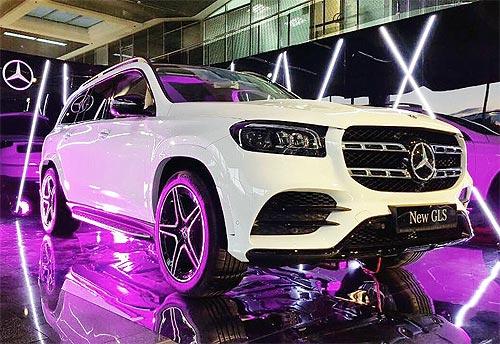 Новый Mercedes-Benz GLS уже в Украине