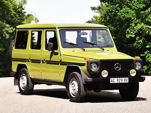 Mercedes-Benz Gelandewagen исполнилось 40 лет. Самый честный внедорожник