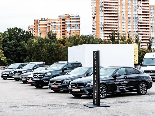 В Украине состоялся звездный тест-драйв Mercedes-Benz Star Experience 2019