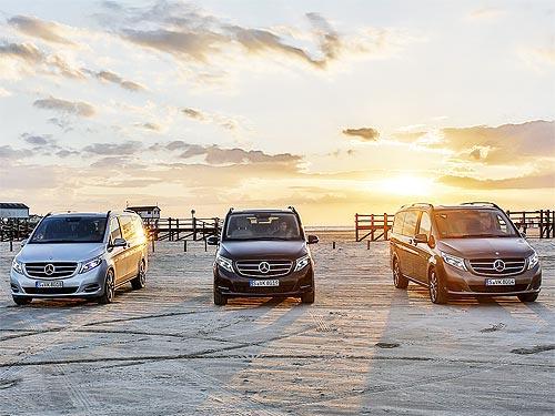 На Mercedes-Benz V-Class действует спецпредложение с выгодой до 9058 евро
