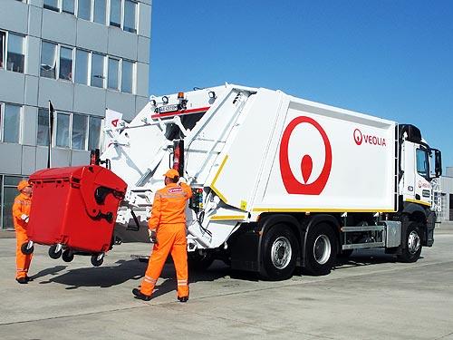 В Украине появились бесшумные мусоровозы