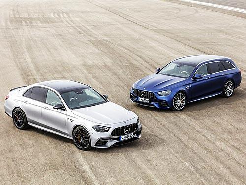 Представлен обновленный седан и универсал Mercedes-AMG E63