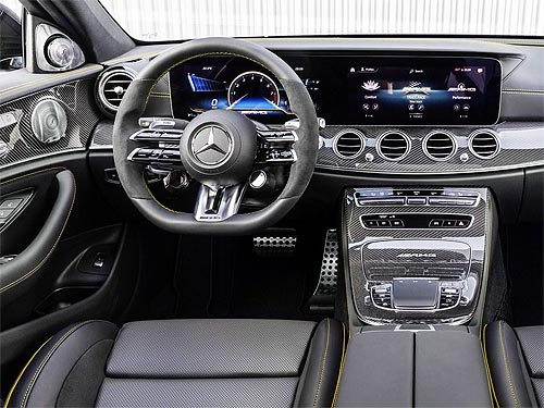 Представлен обновленный седан и универсал Mercedes-AMG E63 - Mercedes-Benz