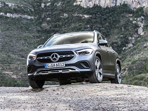 Новый Mercedes-Benz GLA уже в Украине. Объявлены цены