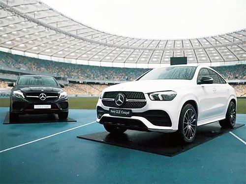 В Украине прошла digital-презентация еще одной модели Mercedes-Benz