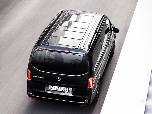 Что поменялось в новом Mercedes-Benz Vito - Mercedes-Benz