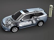 Система Plug-in Hybrid EV от Mitsubishi получила престижную награду