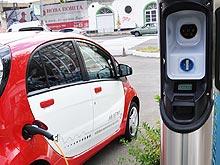 В Киеве открылась еще одна зарядная станция для электрокаров