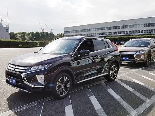 Первые впечатления о новом кроссовере Mitsubishi Eclipse Cross - Mitsubishi