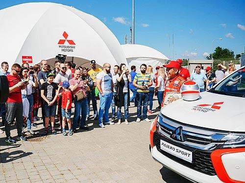 В 5 городах Украины прошел внедорожный off-road тур Mitsubishi - Mitsubishi