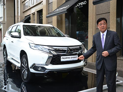 Глава Mitsubishi Осаму Масуко рассказал о новинках в Украине